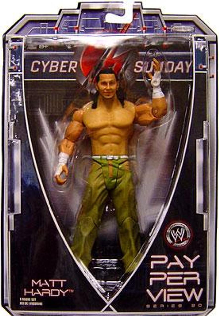 WWE Wrestling Pay Per View Series 20 Cyber Sunday Matt Hardy Action Figure
