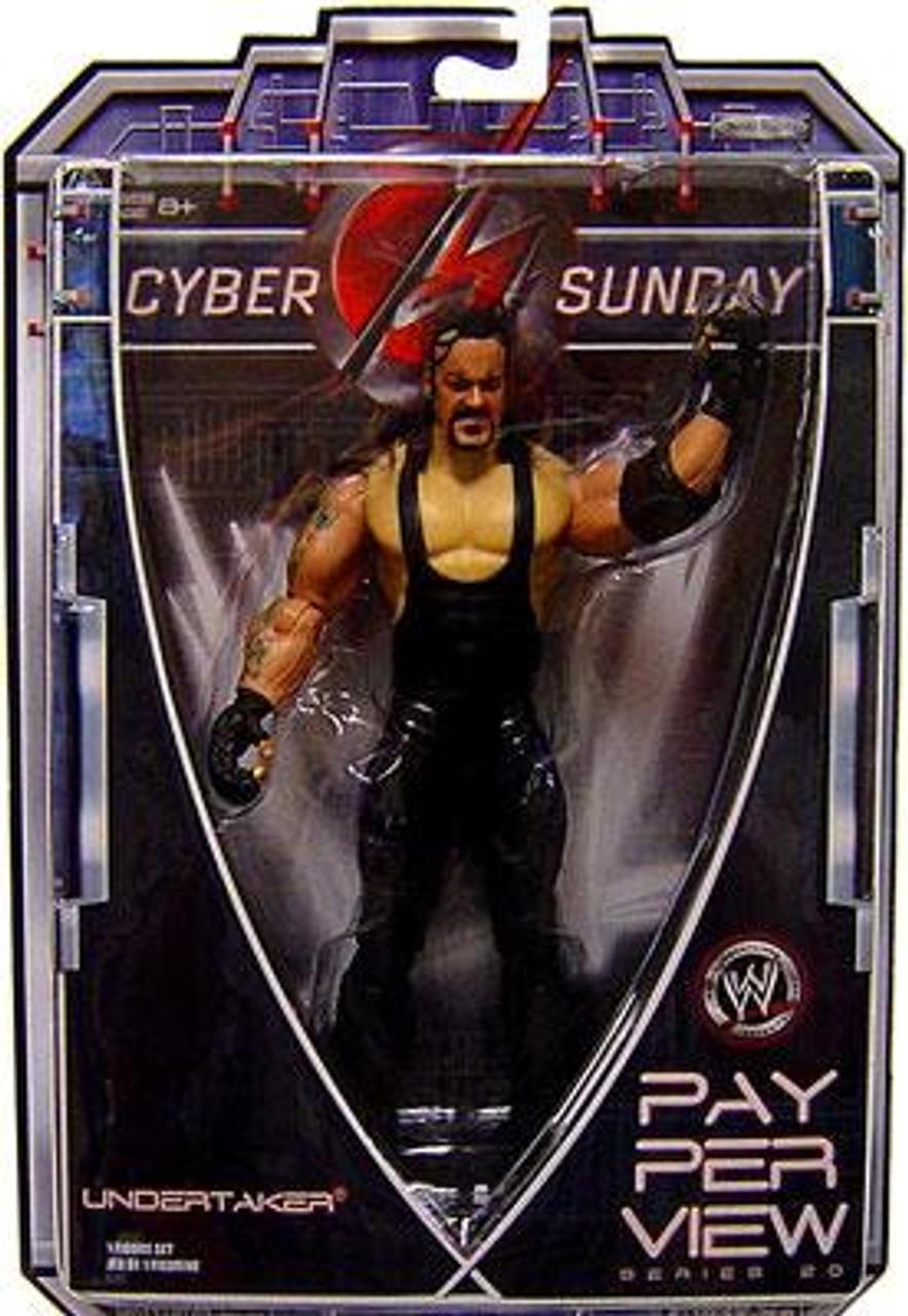 WWE Wrestling Pay Per View Series 20 Cyber Sunday Undertaker Action Figure