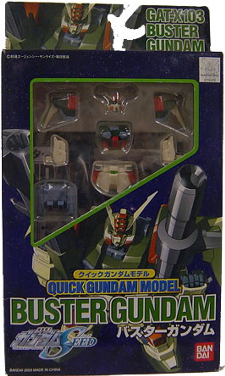 Seed Quick Buster Gundam Model Kit