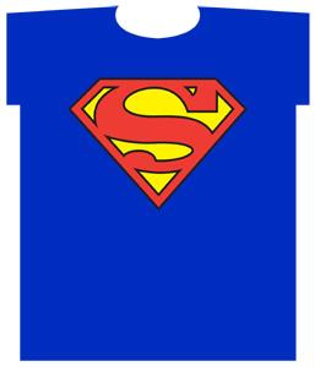 DC Superman Logo T-Shirt [Youth Small]