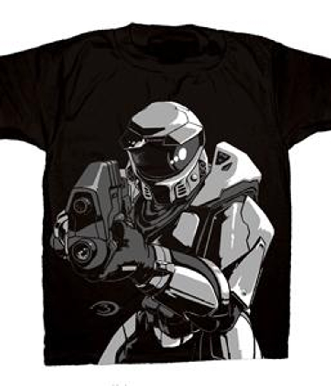 Halo 3 Pointing A Gun T-Shirt [Adult XL]