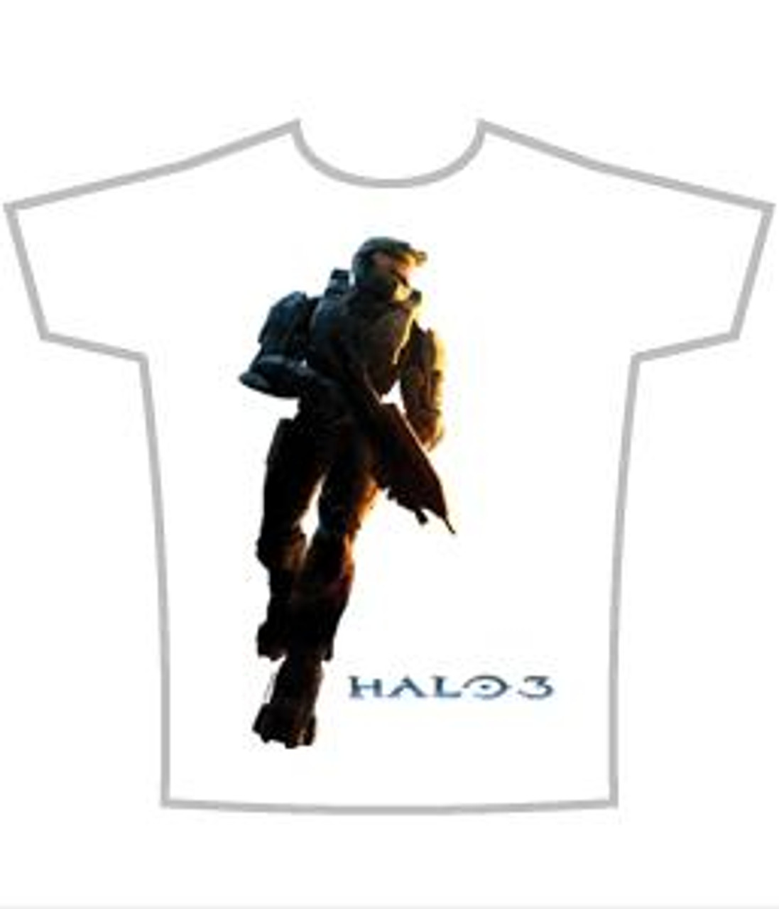 Halo 3 Master Chief Logo T-Shirt [Adult Medium]