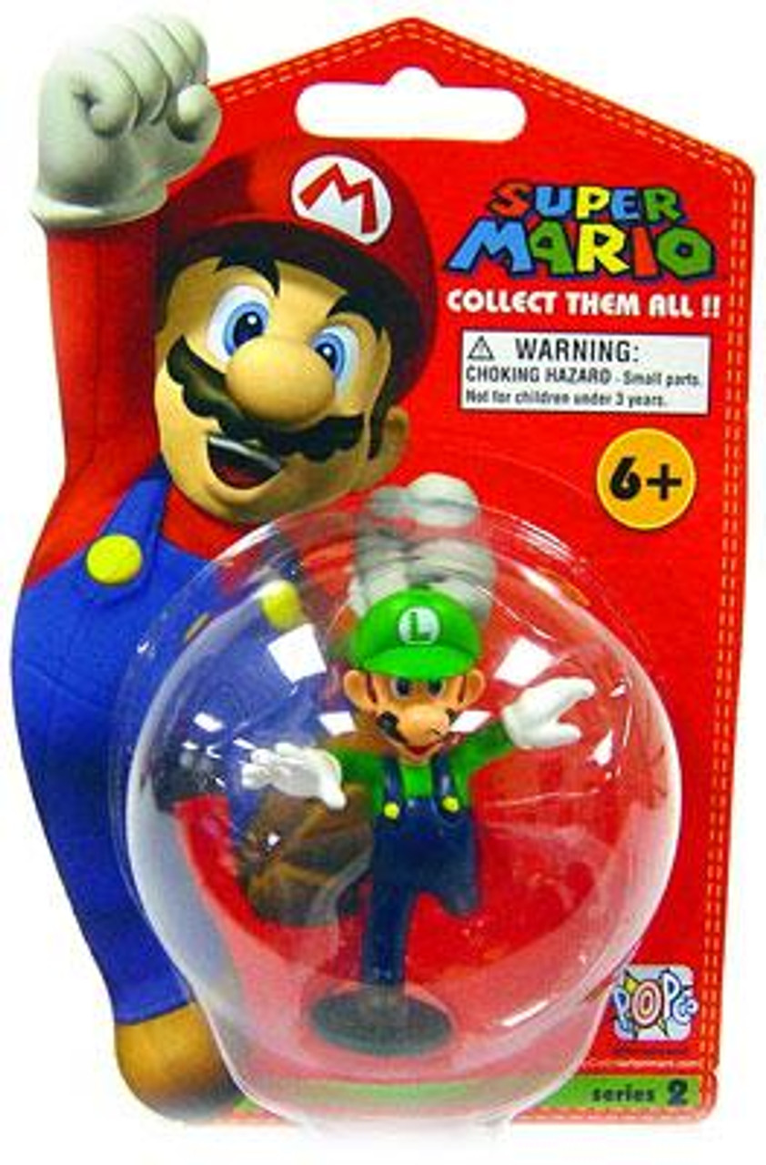 Super Mario Bros Series 2 Luigi Vinyl Mini Figure