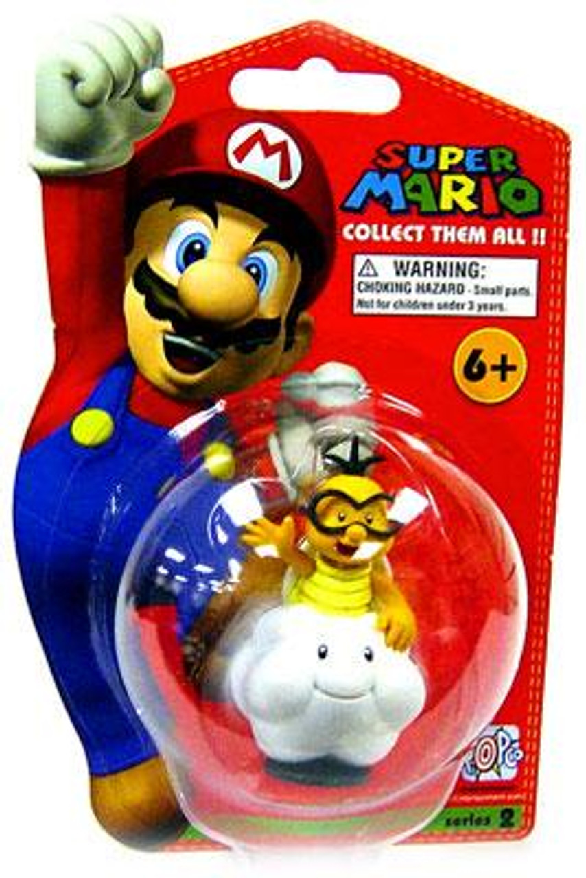 Super Mario Bros Series 2 Lakitu Vinyl Mini Figure