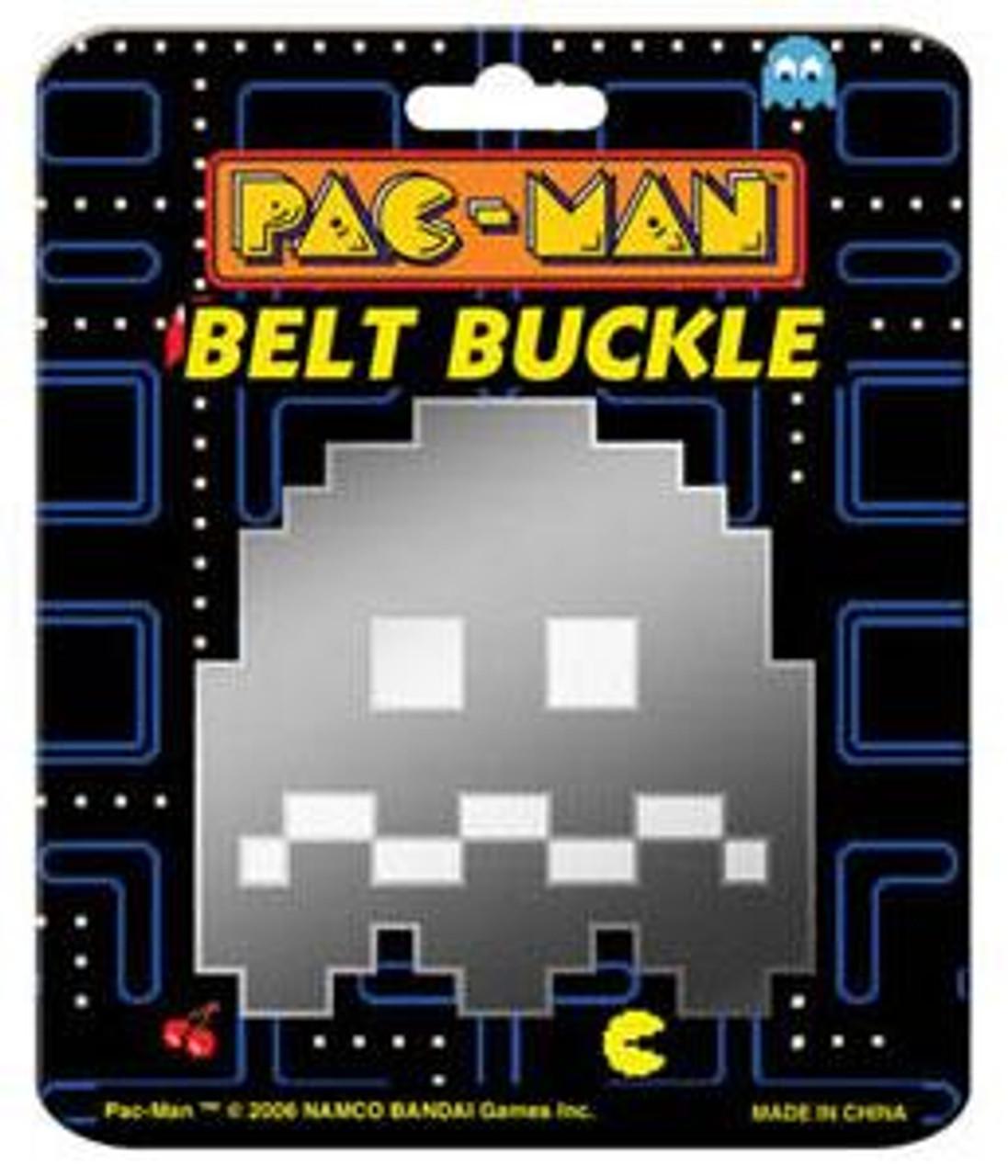 Pac Man See Through Ghost Belt Buckle