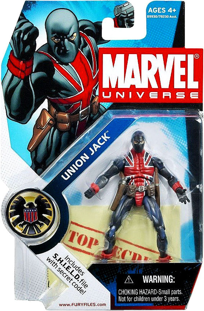 Marvel Universe Series 4 Union Jack Action Figure #26