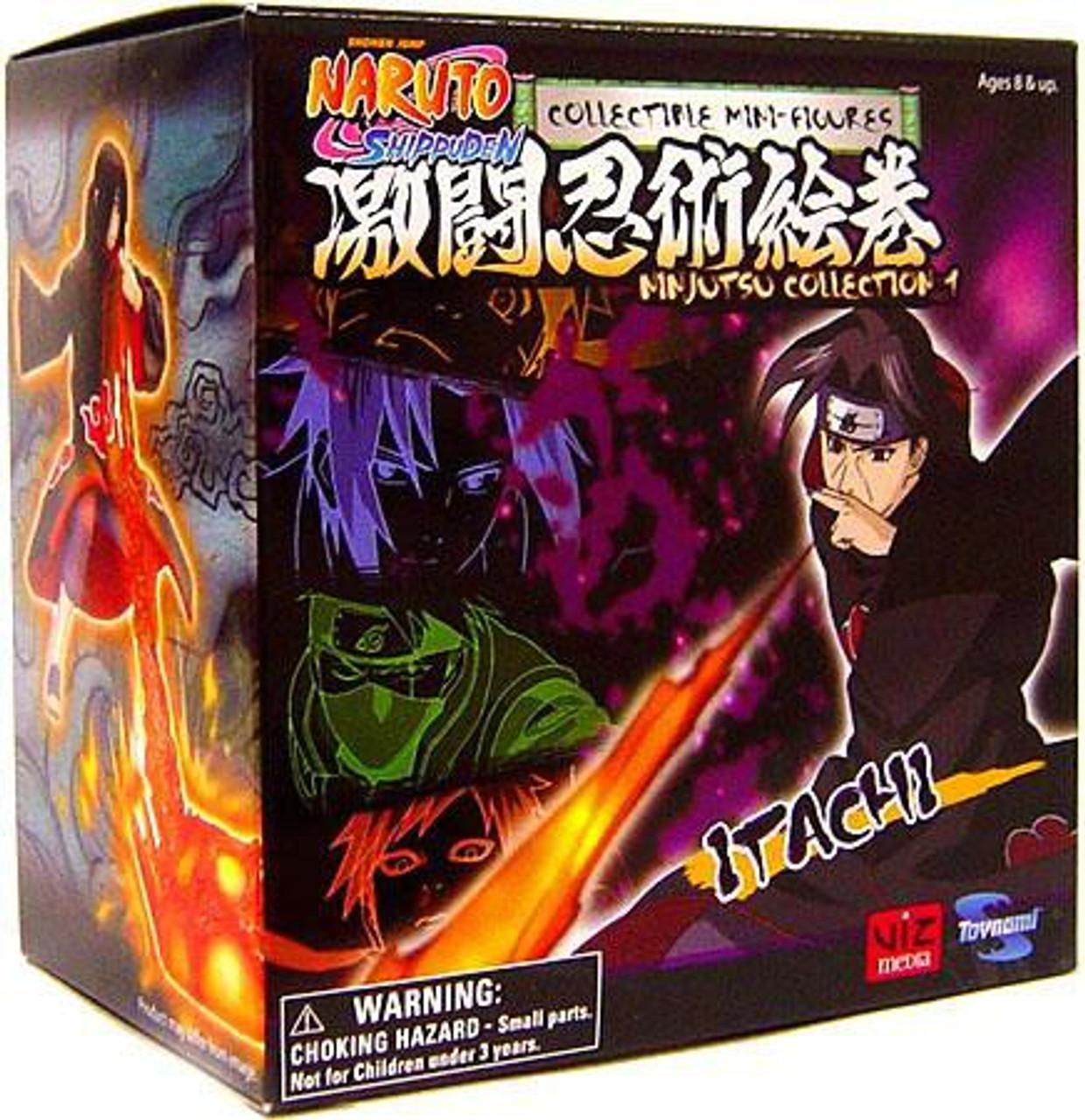 Naruto Shippuden Ninjutsu Collection 4-Inch Series 1 Itachi Action Figure