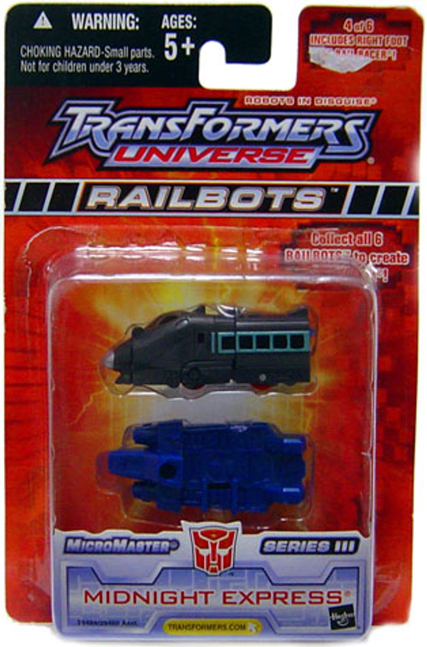 Transformers Universe Micromaster Series 3 Midnight Express Action Figure