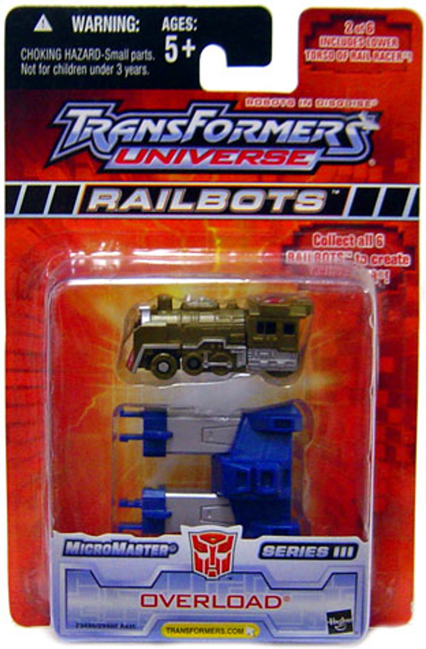 Transformers Universe Micromaster Series 3 Overload Action Figure