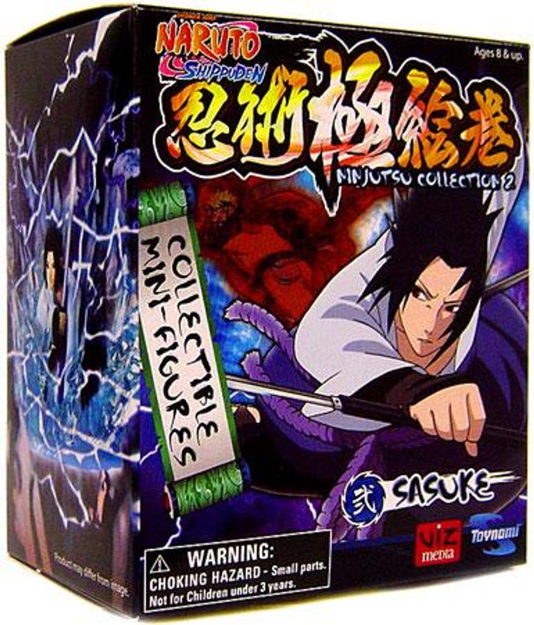 Naruto Shippuden Ninjutsu Collection 4-Inch Series 2 Sasuke Action Figure