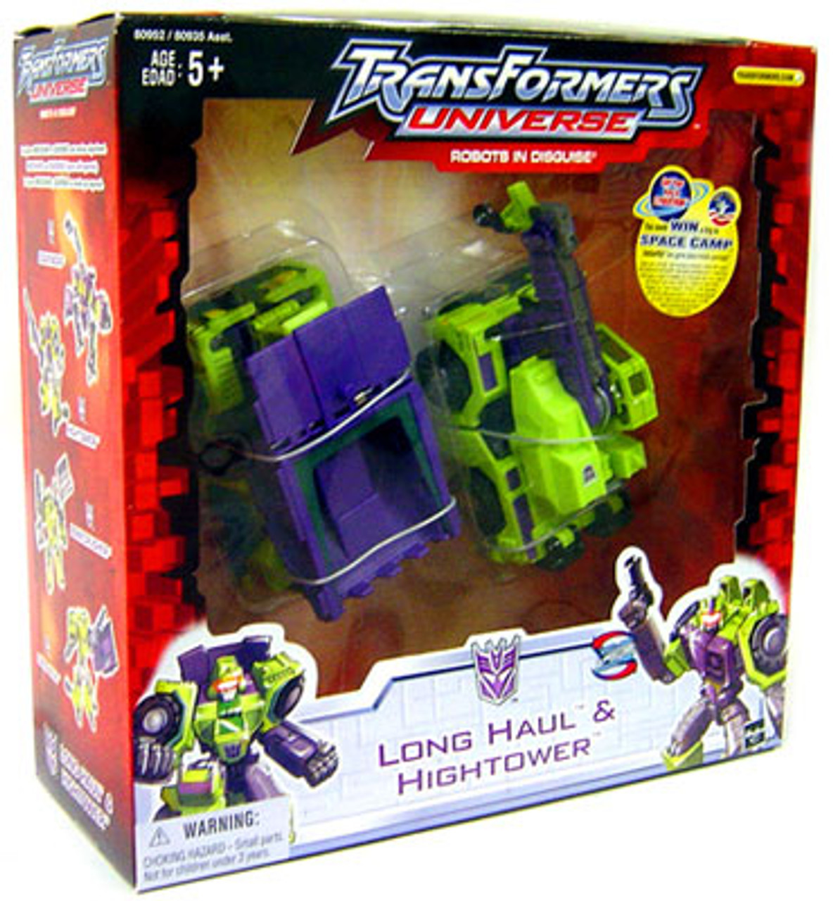 Transformers Universe Robots in Disguise Long Haul & Hightower Action Figure 2-Pack