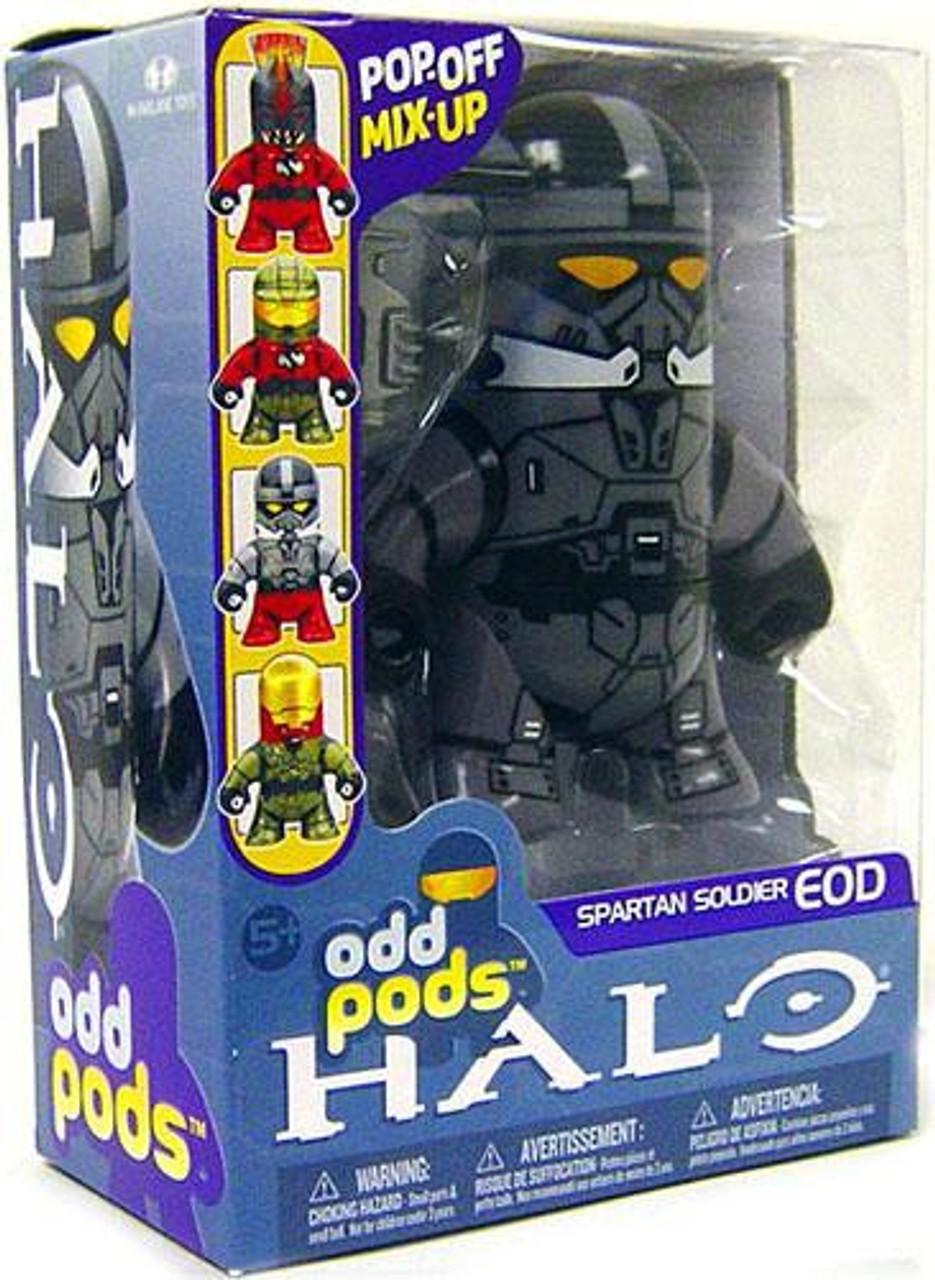 McFarlane Toys Halo 3 Odd Pods Series 1 Spartan Soldier EOD Figure [Steel]