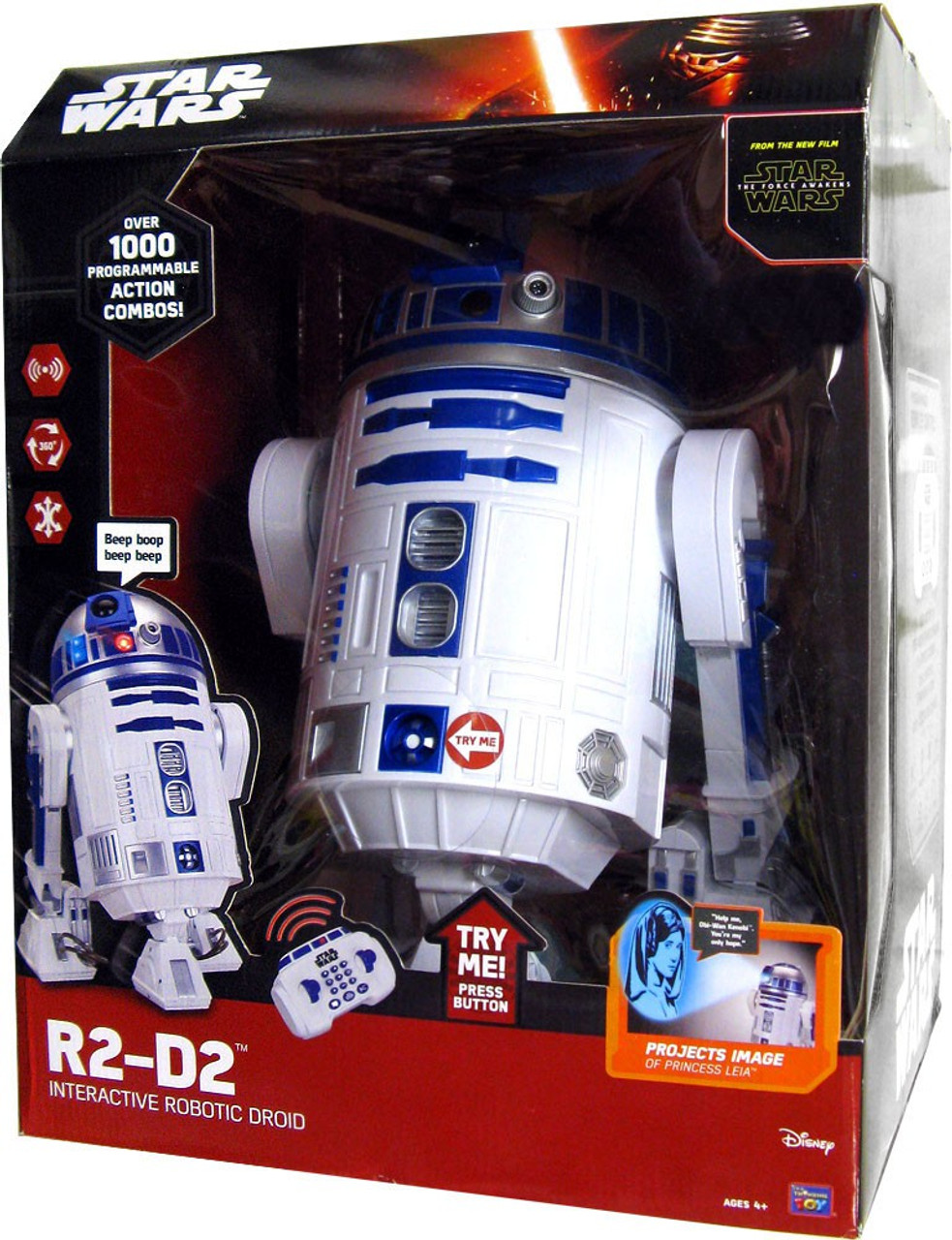 Star Wars The Force Awakens Epic Battles R2-D2 12-Inch Interactive Robotic Droid