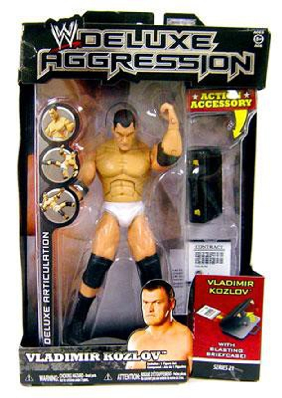 WWE Wrestling Deluxe Aggression Series 21 Vladimir Kozlov Action Figure
