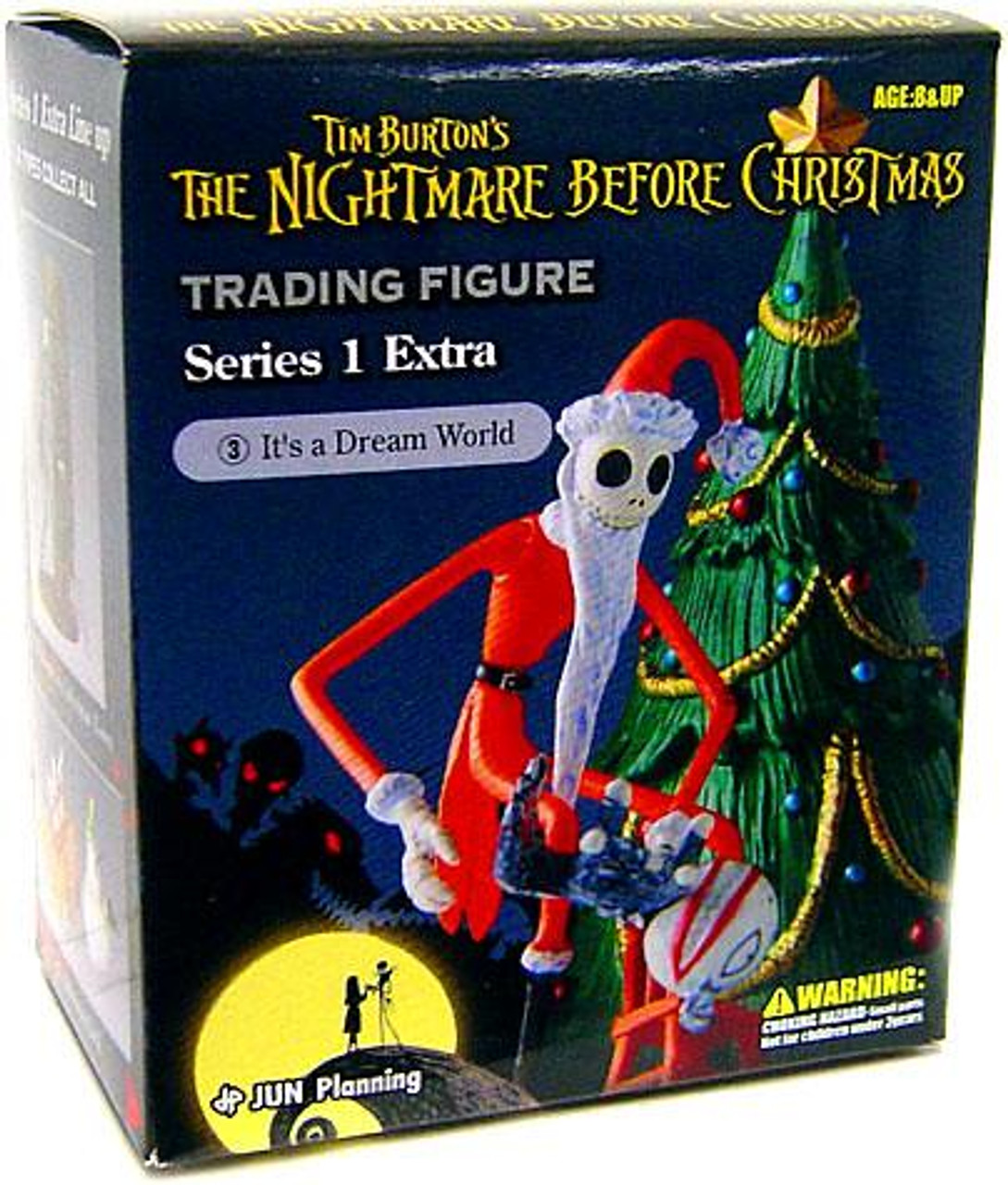 The Nightmare Before Christmas Series 1 Extra It's A Dream World Trading Figure #3