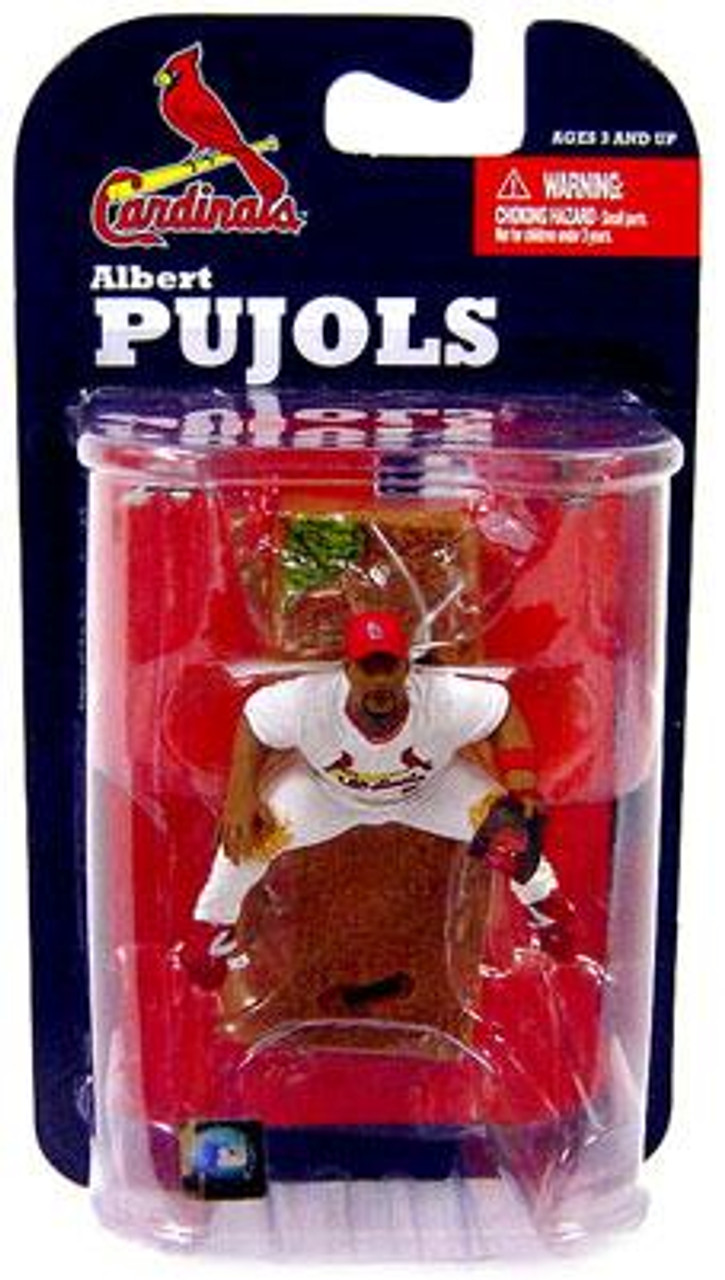 McFarlane Toys MLB St. Louis Cardinals Sports Picks 3 Inch Mini Series 7 Albert Pujols Mini Figure