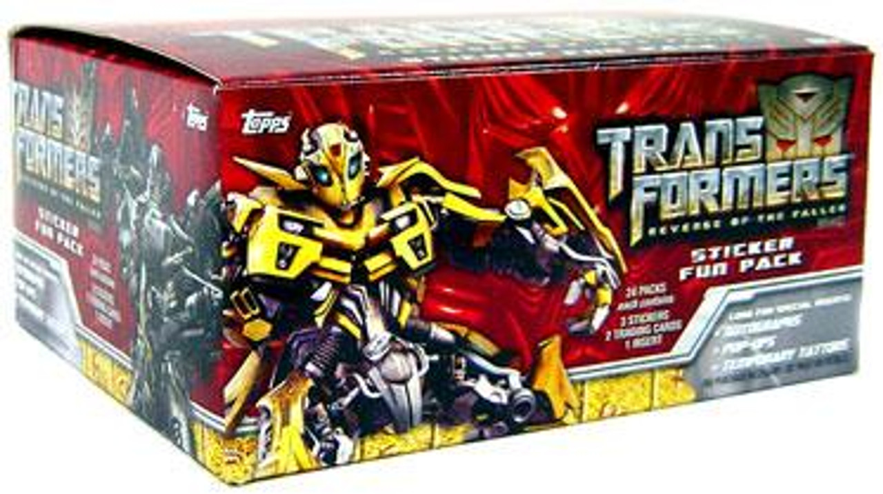 Transformers Revenge of the Fallen Trading Card Box