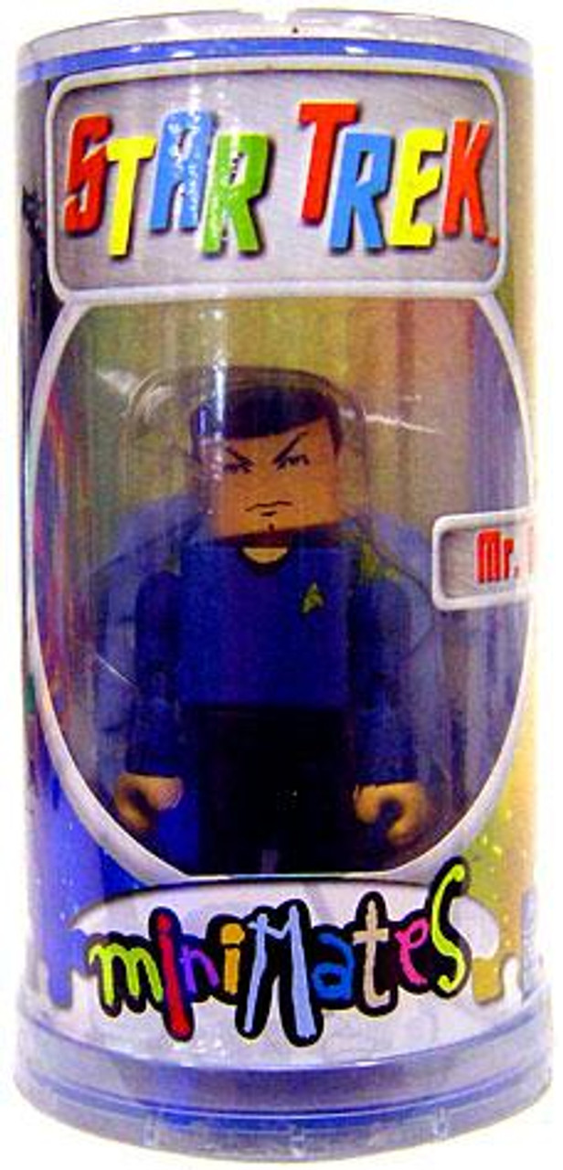 Star Trek The Original Series MiniMates Mr. Spock Minifigure