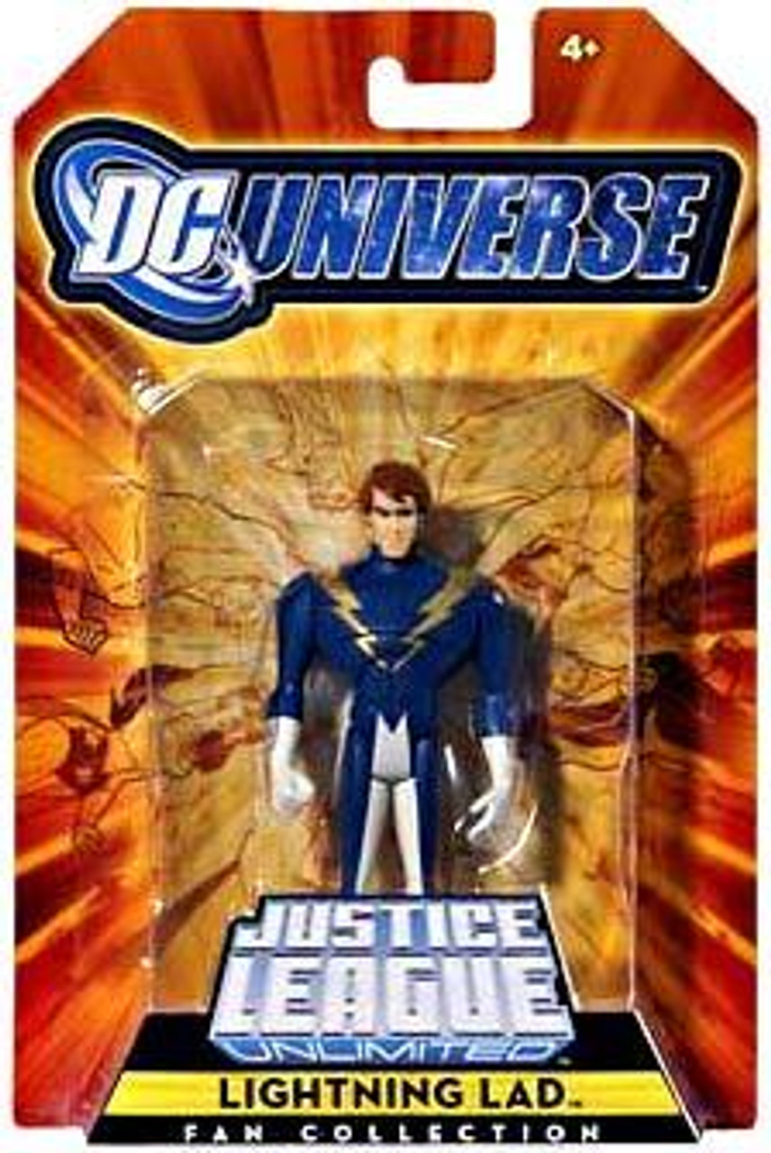 DC Universe Justice League Unlimited Fan Collection Lightning Lad Exclusive Action Figure