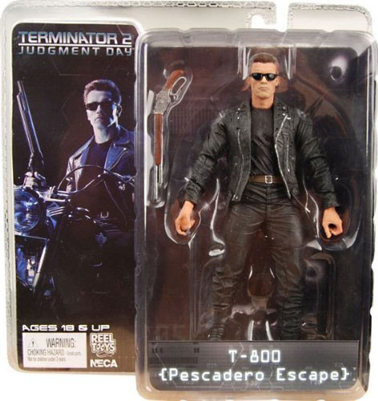 NECA Terminator 2 Judgment Day Series 1 T-800 Action Figure [Pescadero Escape]