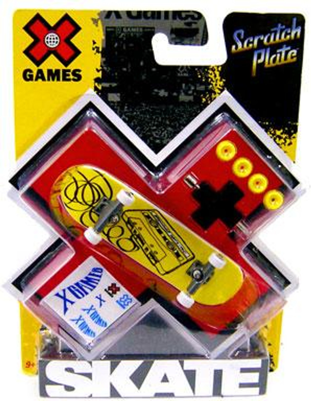 X Games Extreme Sports Cassette Tape Mini Skateboard