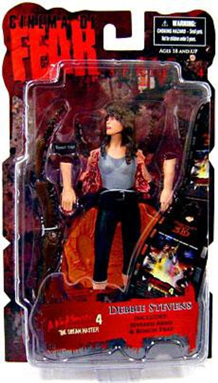 A Nightmare on Elm Street Cinema of Fear Series 4 Debbie Stevens Action Figure