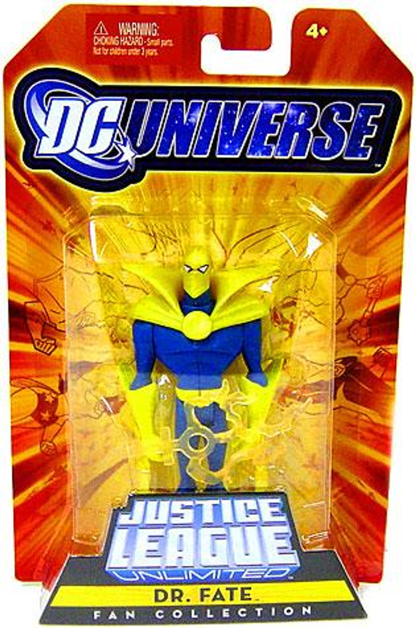 DC Universe Justice League Unlimited Fan Collection Dr. Fate Action Figure