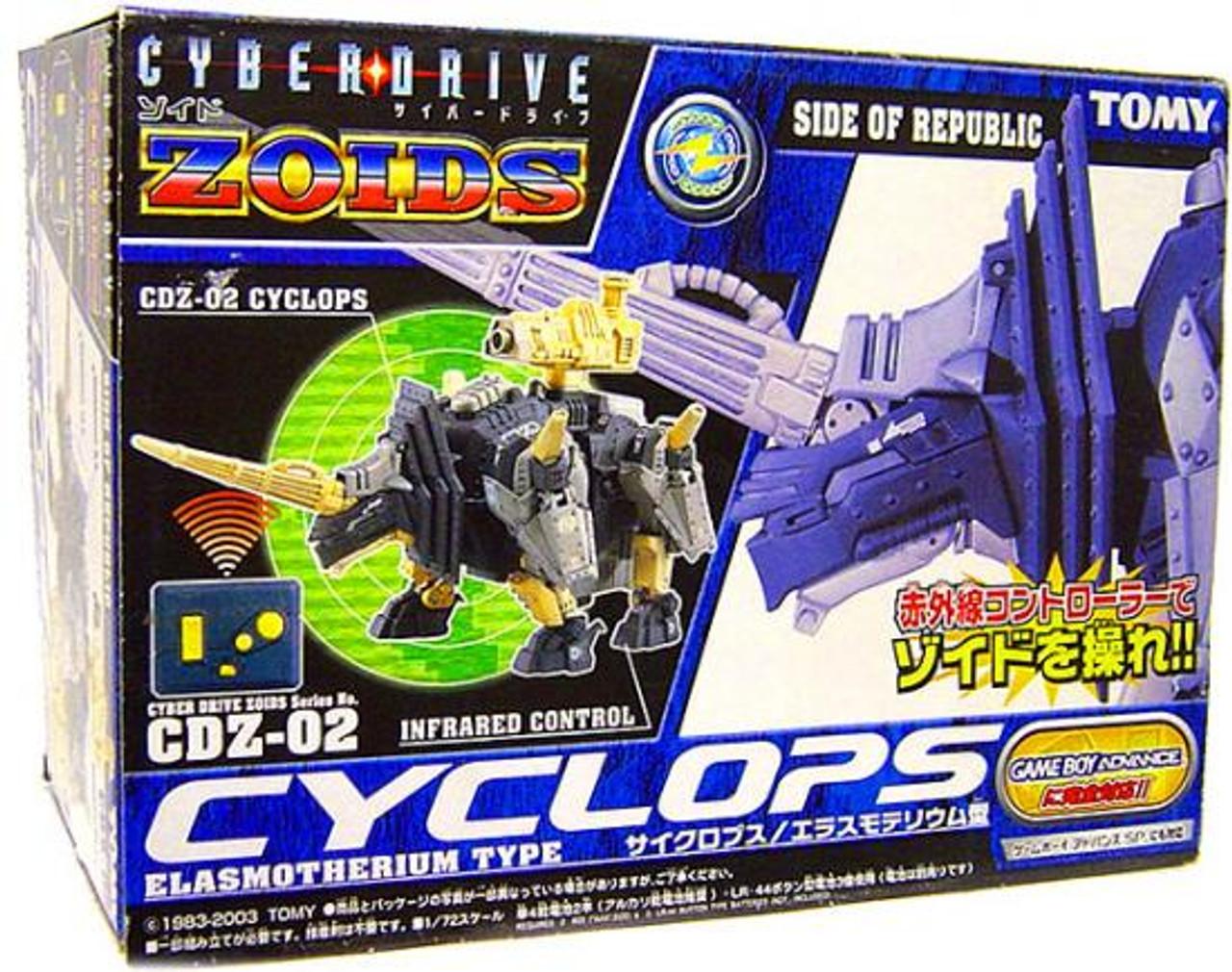 Zoids Cyberdrive Cyclops Model Kit CDZ-02