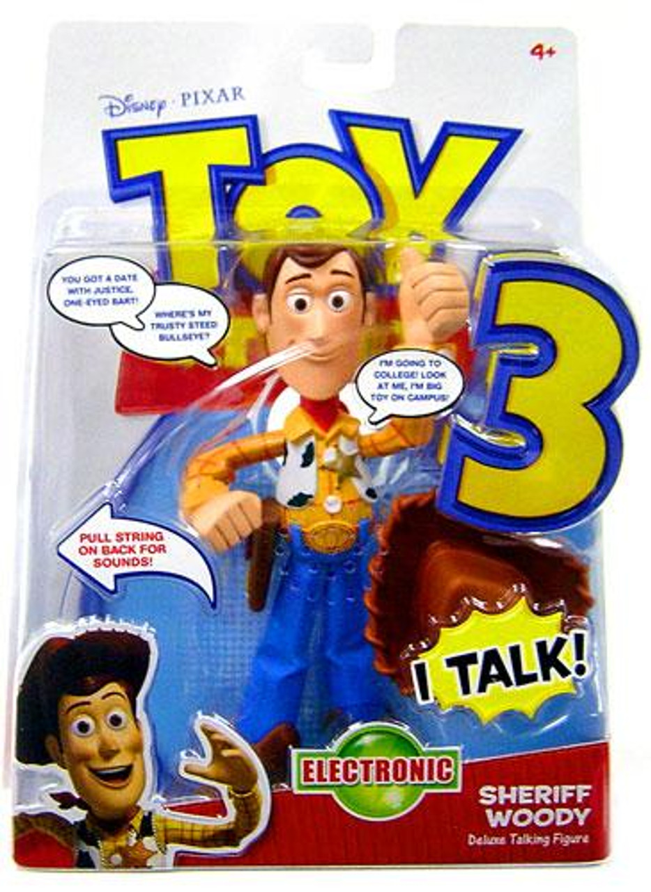 Disney Toy Story 3 Woody Action Figure [Deluxe Talking]
