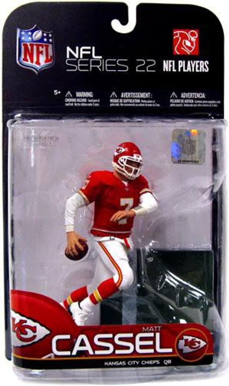 McFarlane Toys NFL Kansas City Chiefs Sports Picks Series 22 Matt Cassel Action Figure [Red Jersey]