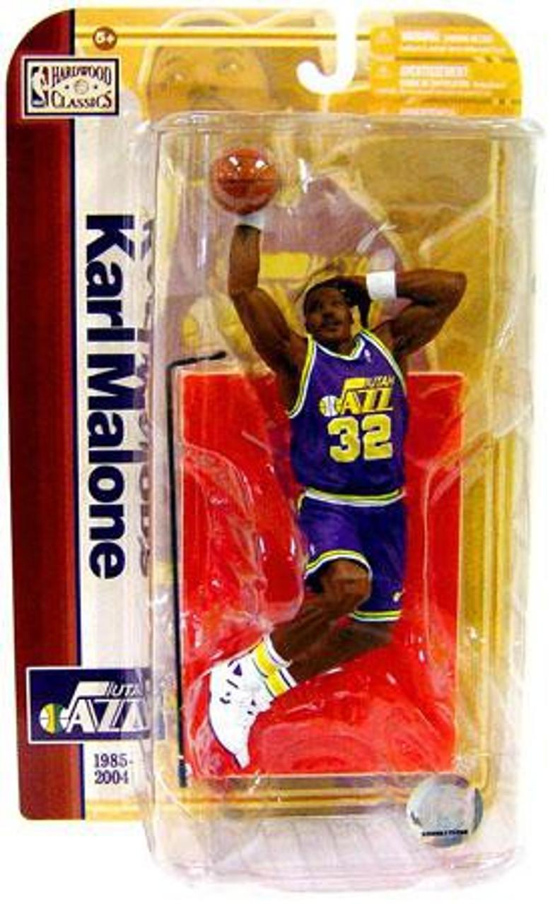 McFarlane Toys NBA Utah Jazz Sports Picks Legends Series 5 Karl Malone Action Figure [Purple Jersey]