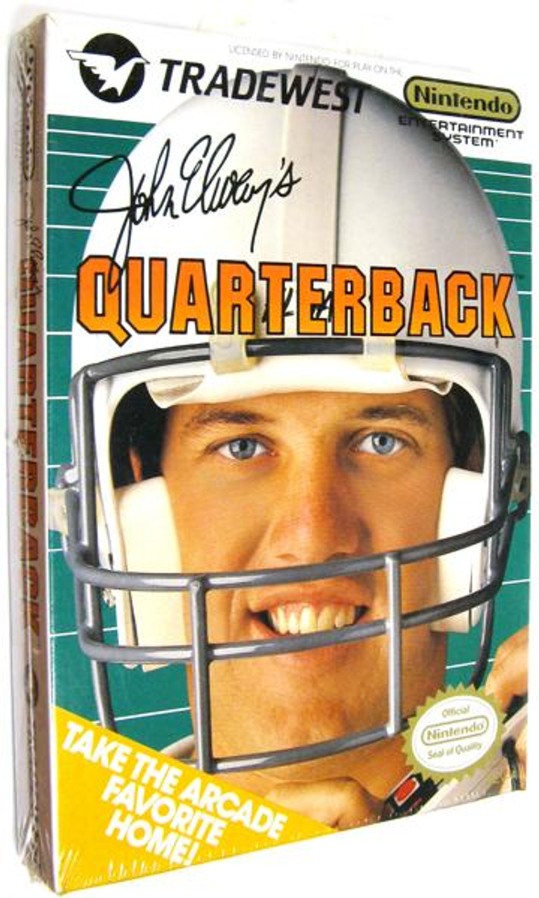 Nintendo NES John Elway's Quarterback Video Game Cartridge [Factory Sealed]