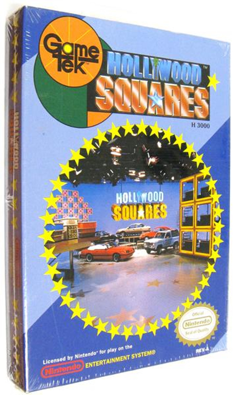 Nintendo NES Hollywood Squares Video Game Cartridge [Factory Sealed]