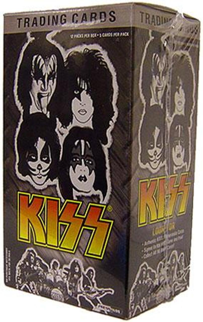 KISS Ikons Trading Card Value Box