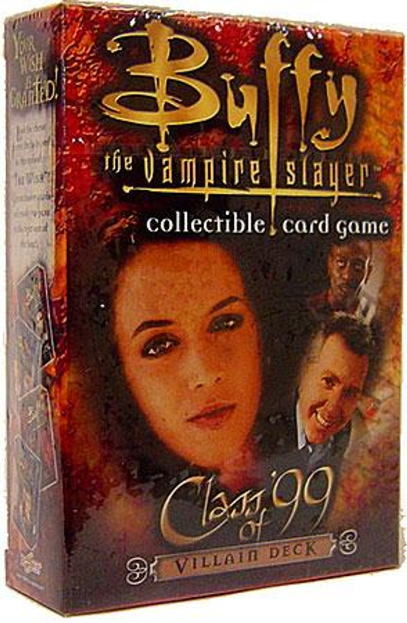 Buffy The Vampire Slayer Collectible Card Game Class of '99 Starter Deck [Villain]