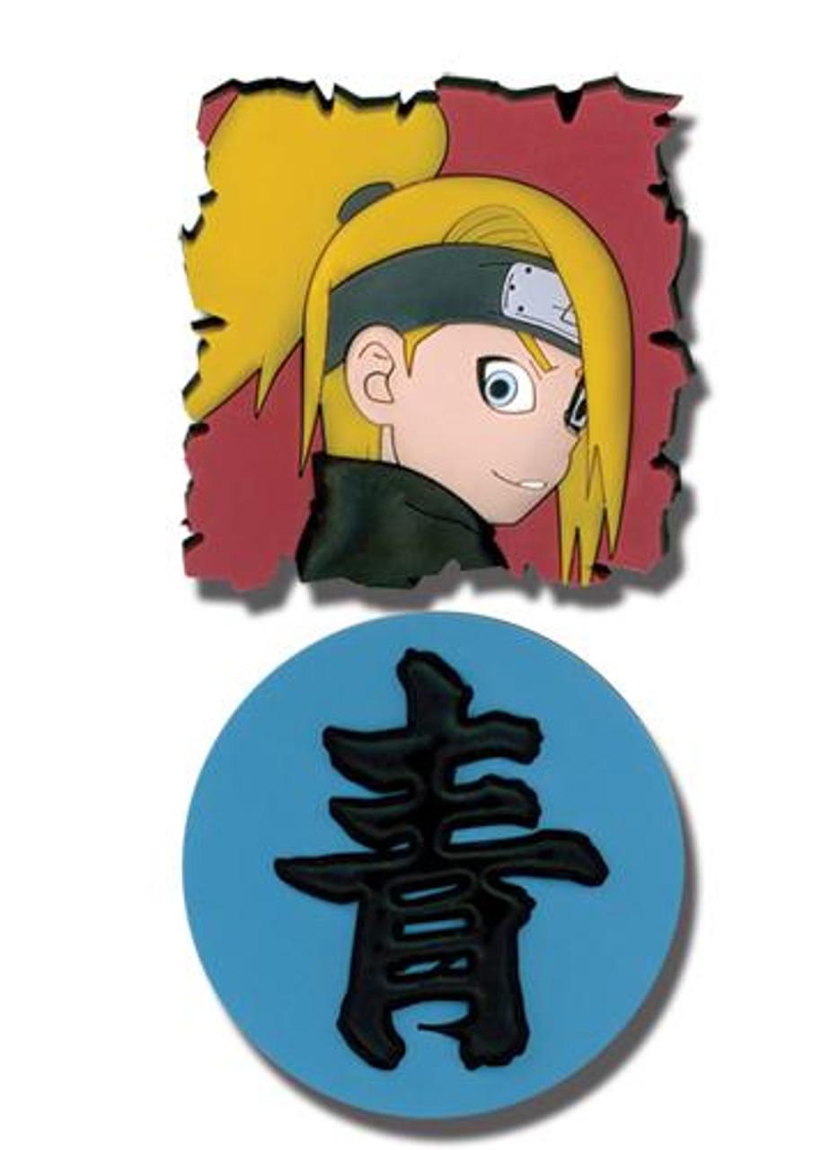 Naruto Shippuden Deidara & Kanji Pins