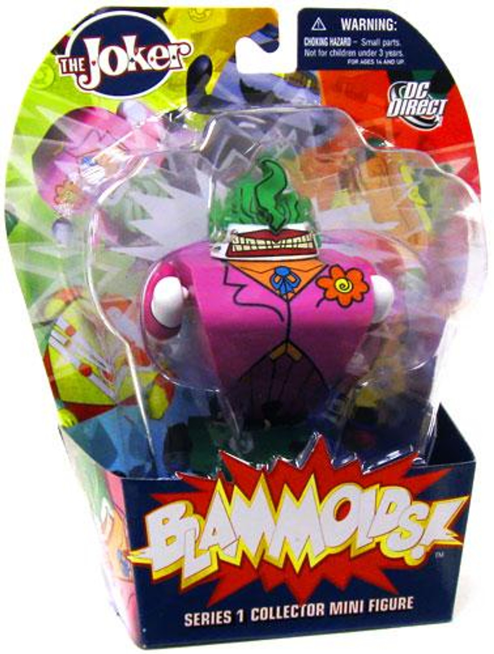 DC Blammoids Series 1 The Joker Mini Figure