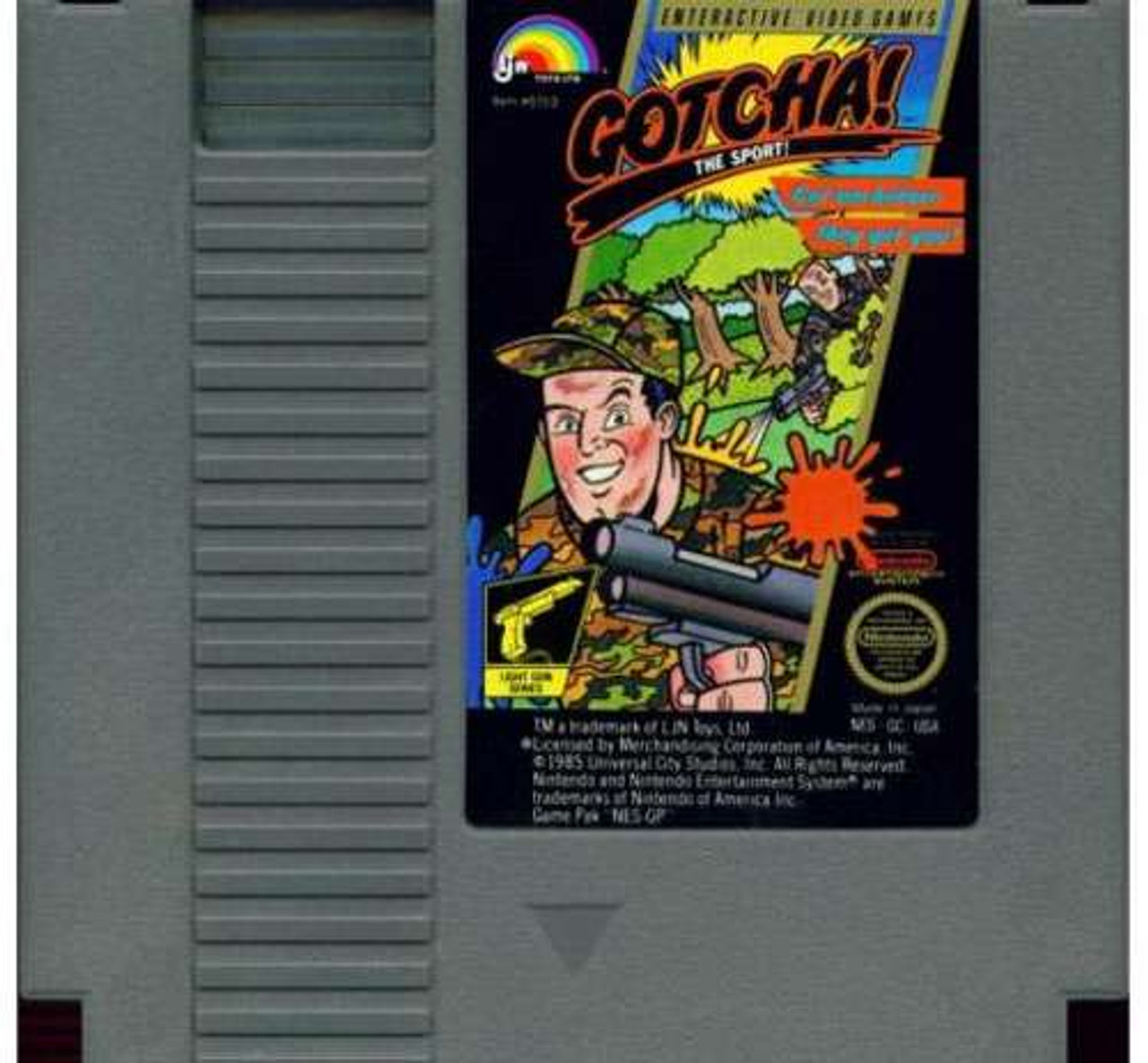 Nintendo NES Gotcha! The Sport! Video Game Cartridge [Played Condition]