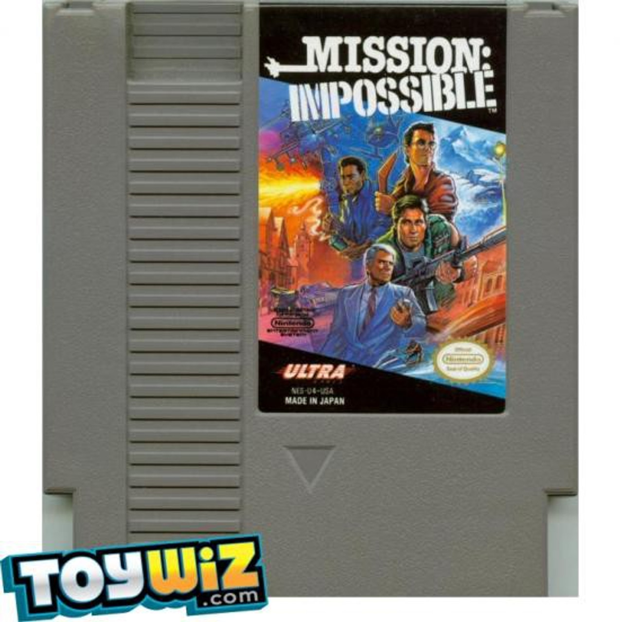 Nintendo NES Mission: Impossible Video Game Cartridge [Played Condition]