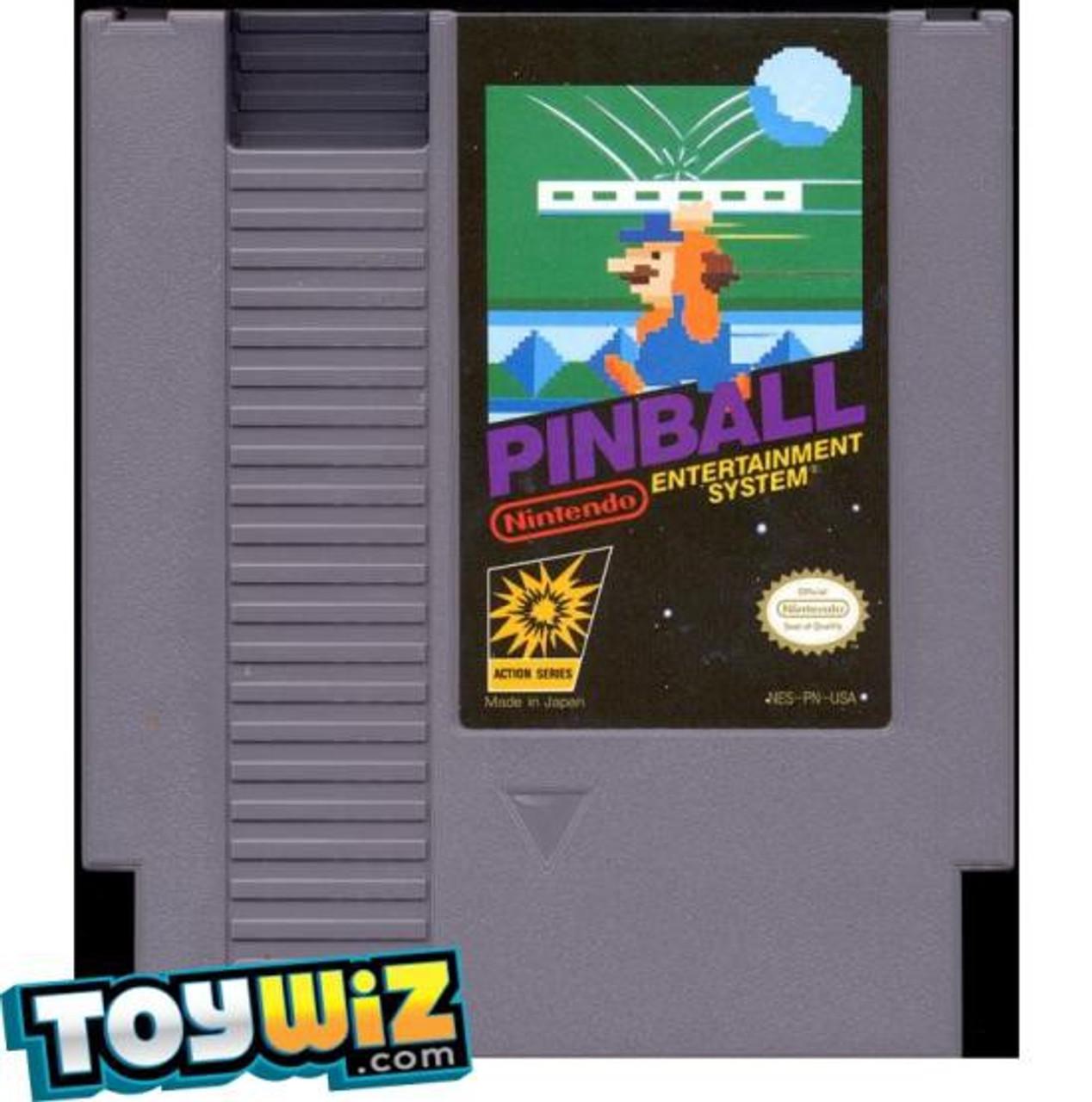 Nintendo NES Pinball Video Game Cartridge [Played Condition]