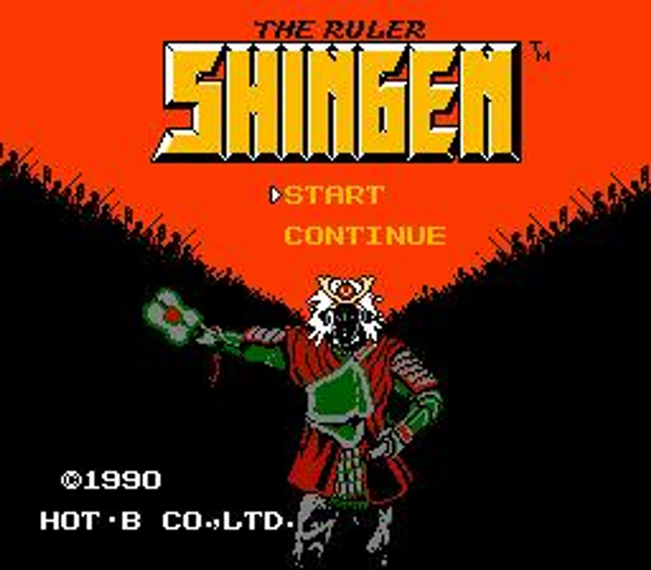 Nintendo NES Shingen the Ruler Video Game Cartridge [Played Condition]