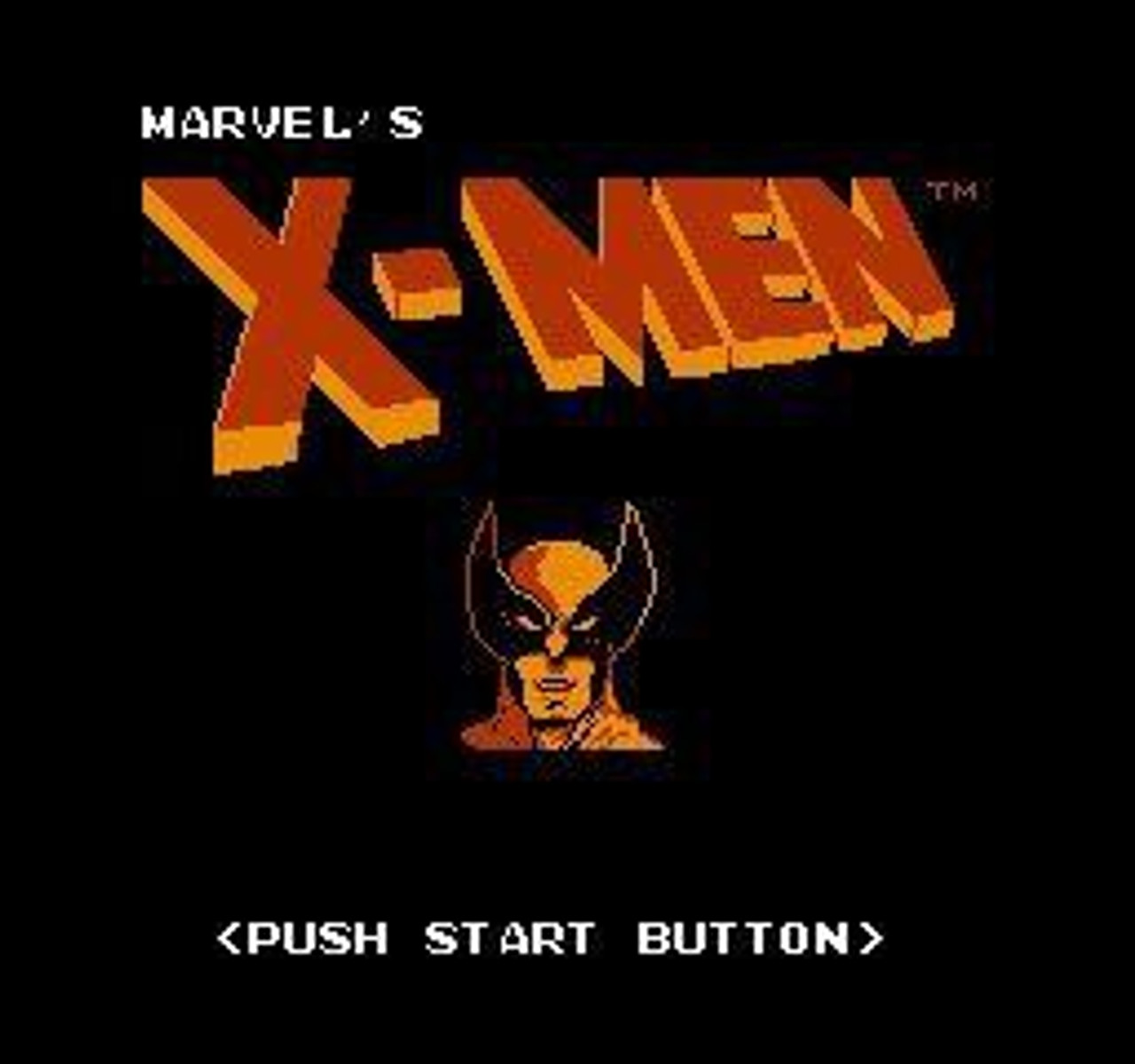 Nintendo NES The Uncanny X-Men Video Game Cartridge [Played Condition]
