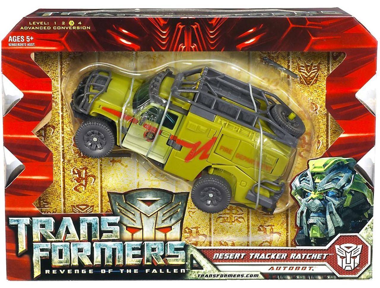 Transformers Revenge of the Fallen Desert Tracker Ratchet Voyager Action Figure