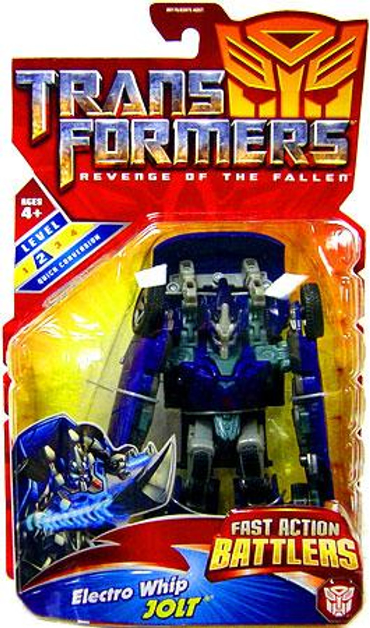 Transformers Revenge of the Fallen Fast Action Battlers Electro Whip Jolt Action Figure