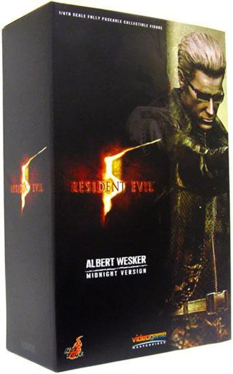 Resident Evil 5 Video Game Masterpiece Albert Wesker 1/6 Collectible Figure [Midnight Version]
