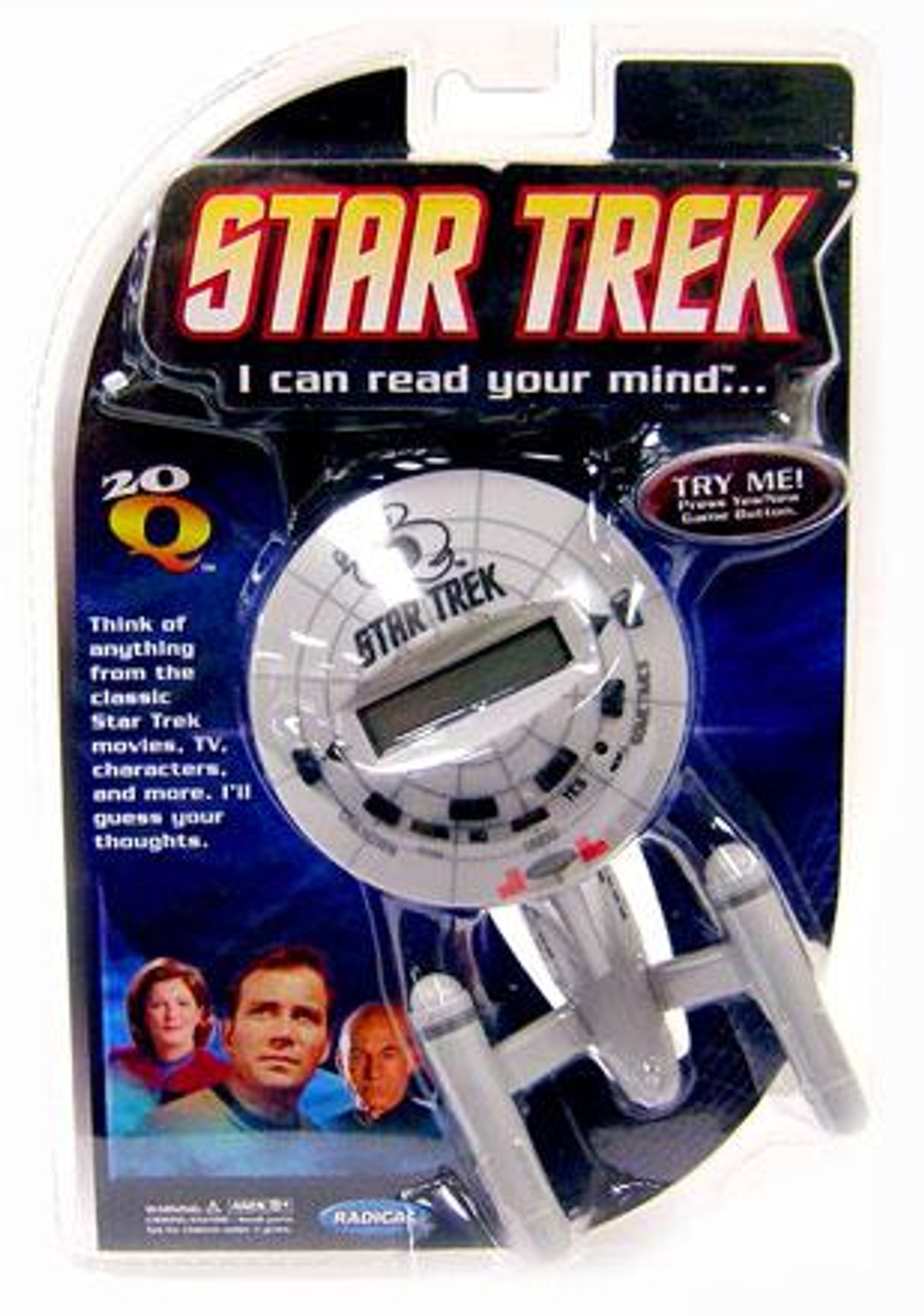 20 Questions Star Trek 20Q Handheld Electronic Game