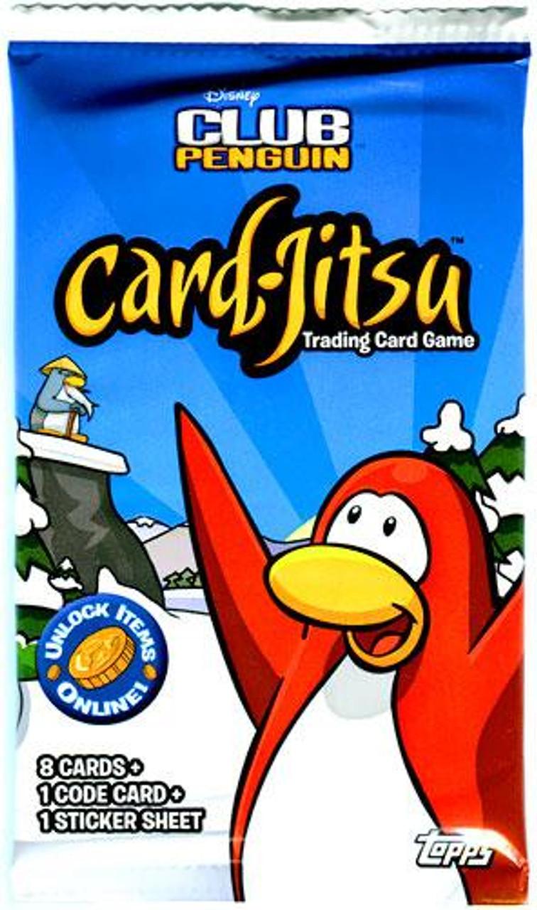 Club Penguin Card-Jitsu Series 1 Booster Pack