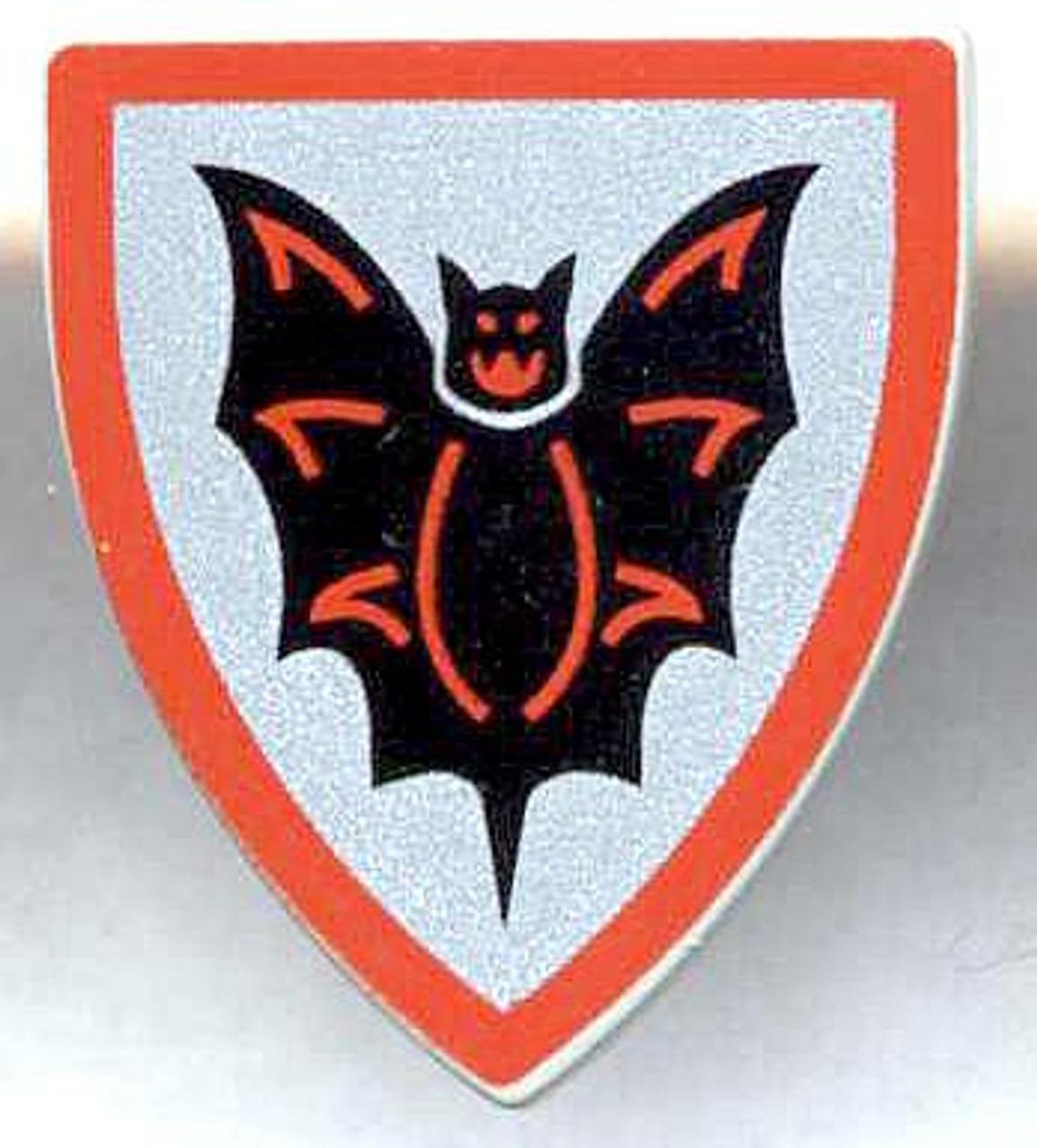 LEGO Castle Shields Small Bat Shield [Loose]