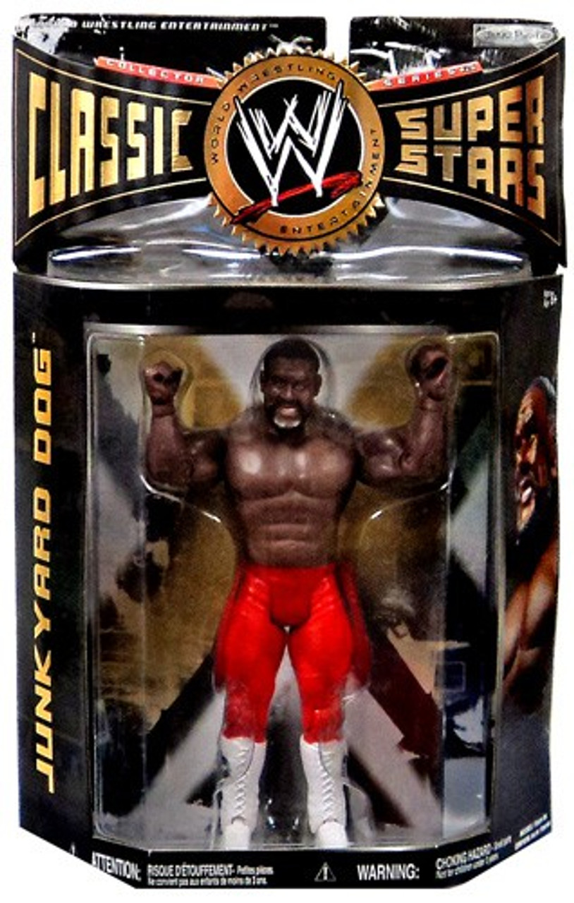 WWE Wrestling Classic Superstars Series 26 Junkyard Dog Action Figure [Red Pants]