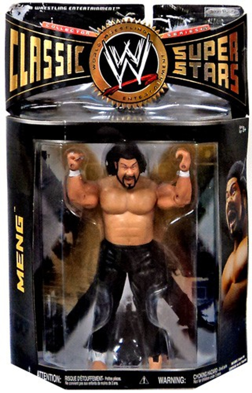WWE Wrestling Classic Superstars Series 26 Meng Action Figure